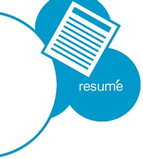 Example of employment history in a resume